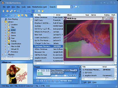 DVD/CD関連おすすめフリーソフト DVD/CDコピーライティング、リッピング、プレイヤー マルチメディア編集用フリーソフト MediaMonkey